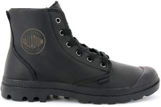 Palladium High Top Pampa Hi Leather Trainers