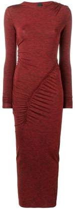 Pinko long fitted dress