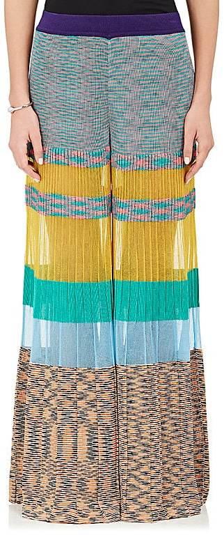 Missoni Women's Colorblocked Knit Palazzo Pants