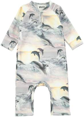 Molo Fiona Dolphins Playsuit