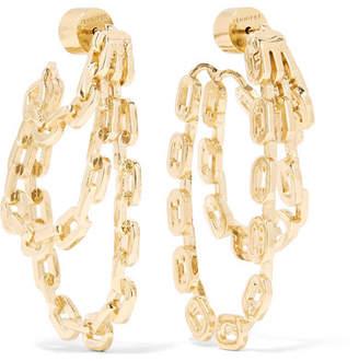 Jennifer Fisher Adwoa Gold-plated Earrings