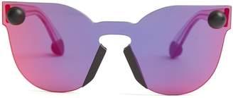 Christopher Kane Bumper rimless cat-eye sunglasses