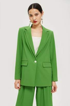 Topshop Oversized Suit Jacket
