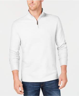 Club Room Men's Quarter-Zip Pullover Sweater