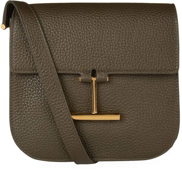 TOM FORD Small Tara Shoulder Bag, Green, One Size