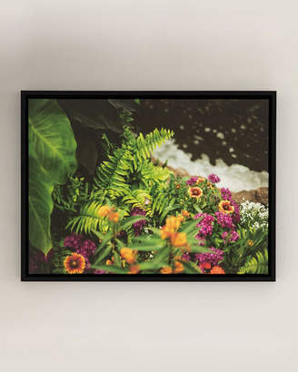 "Four Hands Art Studio ""On the Edge"" Photography Print on Canvas Framed Wall Art"