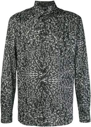 Just Cavalli illusion effect shirt