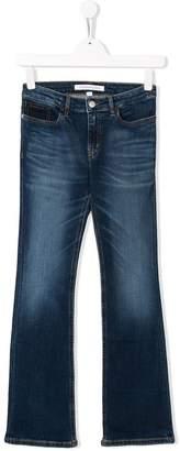 Calvin Klein Kids TEEN flared leg jeans