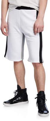 Kenzo Men's Colorblock Logo Shorts