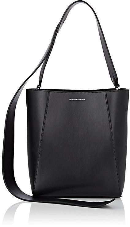 CALVIN KLEIN 205W39NYC Women's Small Leather Bucket Bag