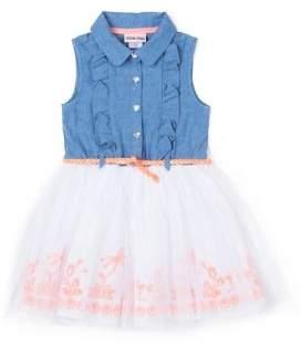 Little Lass Little Girl's Shirt Dress