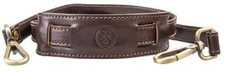 Maxwell Scott Bags High Quality Brown Leather Briefcase Shoulder Strap