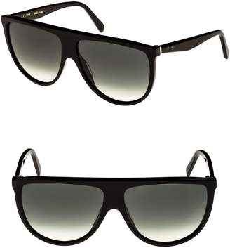 Celine 62mm Pilot Sunglasses