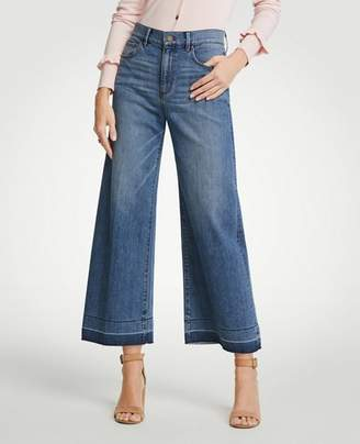 Ann Taylor Released Hem Wide Leg Jeans