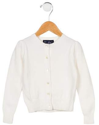 Ralph Lauren Girls' Knit Button-Up Cardigan