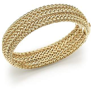 Bloomingdale's 14K Yellow Gold 3-Row Link Bangle - 100% Exclusive