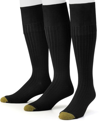 Gold Toe Goldtoe Men's GOLDTOE 3-pk. Canterbury Over-the-Calf Dress Socks