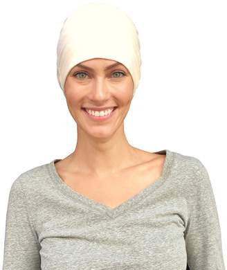 Levi's Cate and Chemo Caps for Women, Cancer Hats, 100% Organic Cotton, Sleep Headwear Gifts for Patients
