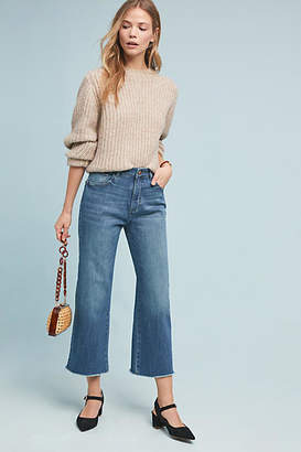 DL1961 Hepburn Ultra High-Rise Cropped Wide-Leg Jeans