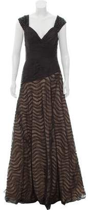 Jovani Embellished Sweetheart Neck Evening Gown