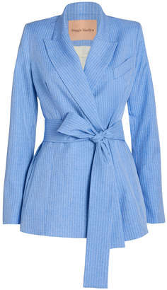 Maggie Marilyn Just Getting Started Tie Waist Blazer
