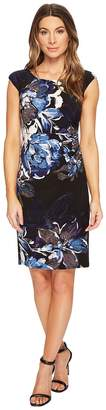 Lauren Ralph Lauren Koriza Patras Floral Dress Women's Dress