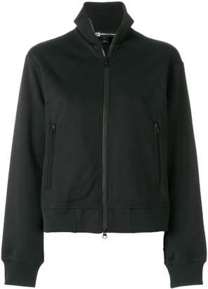Y-3 open back zipped sweatshirt