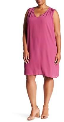 Bobeau Iban Shift Dress (Plus Size)