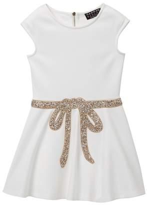 Hannah Banana Rhinestone Embellished Skater Dress (Little Girls & Big Girls)