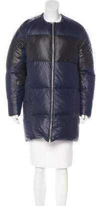 Alexander Wang Puffer Zip-Up Coat
