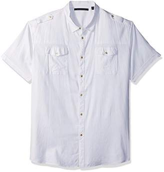 Sean John Men's Short Sleeve New Flight Shirt