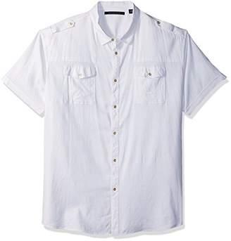 Sean John Men's Tall Size Short Sleeve New Flight Shirt