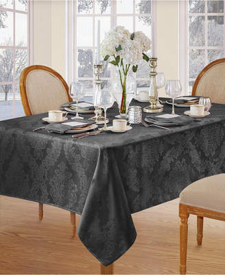 "Elrene Barcelona Damask 60"" x 84"" Oval Tablecloth"