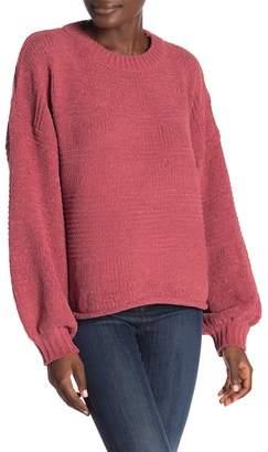 Very J Stripe Knit Sweater