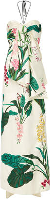 Johanna Ortiz Market Gardens Satin Twill Dress