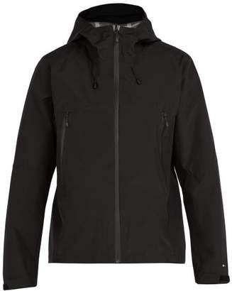The Upside All Weather Waterproof Hooded Jacket - Mens - Black