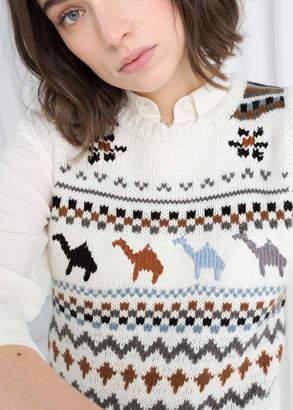 Camel Knit Vest