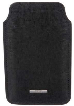 Fendi Textured Leather Wallet