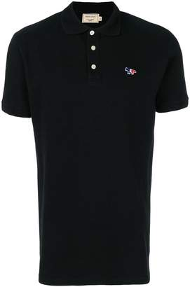 MAISON KITSUNÉ logo detail polo shirt
