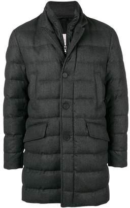 Moncler zipped padded coat