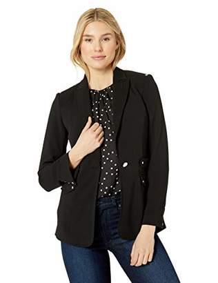 Calvin Klein Women's Blazer with Silver Hardware