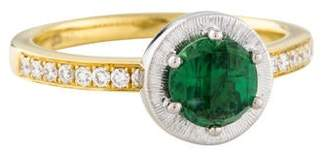 Frederic Sage 18K Tourmaline & Diamond Cocktail Ring