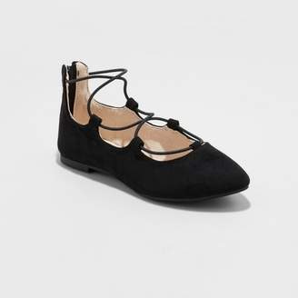 Cat & Jack Girls' Evita Wide Width Ballet Flat