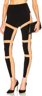 Norma Kamali Spliced Legging