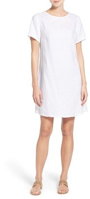 Women's Tommy Bahama 'Two Palms' Linen Shift Dress $118 thestylecure.com