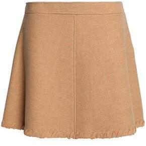 See by Chloe Wool-Blend Mini Skirt