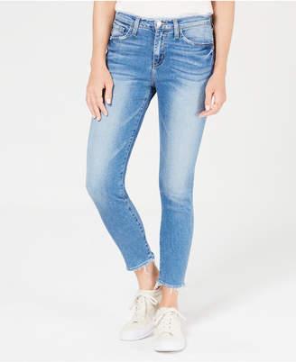 Flying Monkey Raw-Hem Skinny Jeans