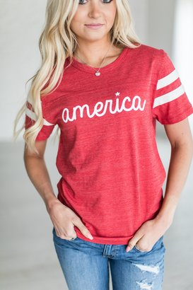 America Tee $39.99 thestylecure.com