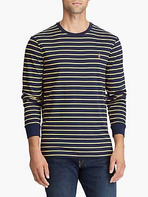 Ralph Lauren Polo Long Sleeve Stripe T-Shirt