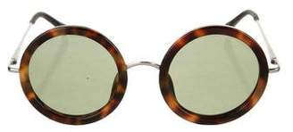 The Row x Linda Farrow Round Tinted Sunglasses